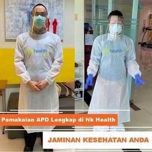 Pemakaian APD Nk Health