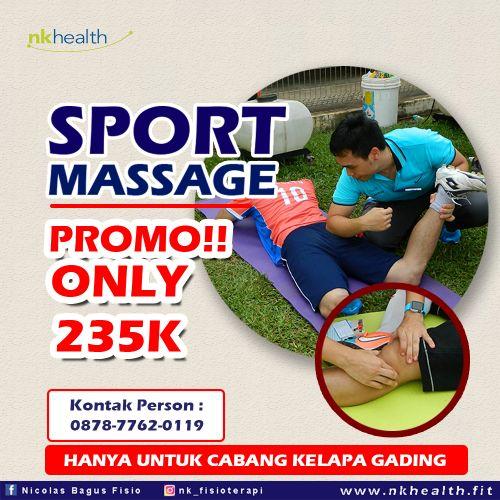 sport massage jakarta Nk Health